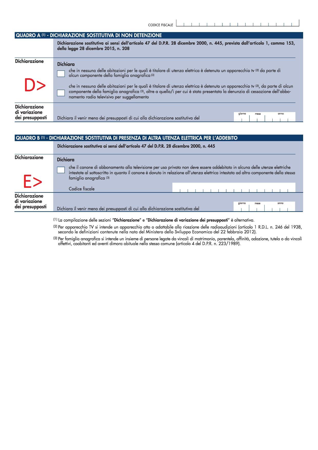 Canone Rai Come Compilare La Dichiarazione Per L Esenzione Del